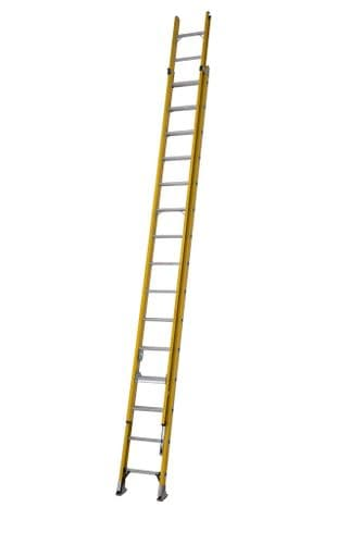 Youngman 52781518 S200 Fibreglass Trade 2 Section Extension Ladder 4.48m