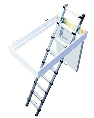 Youngman 30100000 Telescopic Loft Ladder 2.6m