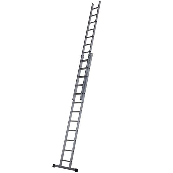 Youngman 57011318 Trade 200 2 Section Extension Ladder 3.66m