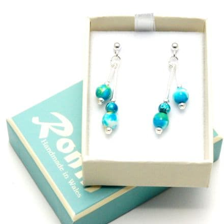 Swimming Pool E3 Earrings