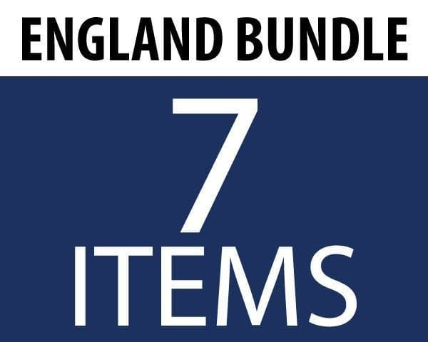 England Supporters Bundle (7 Items)