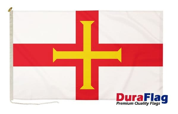"""Guernsey Premium Quality DuraFlag"""" Rope & Toggle"""