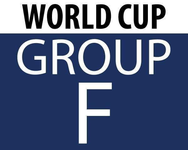 World Cup 2018 - Group F Teams