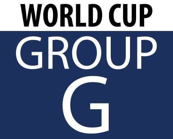World Cup 2018 - Group G Teams