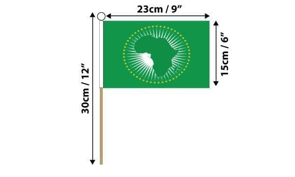 African Union Hand Flag