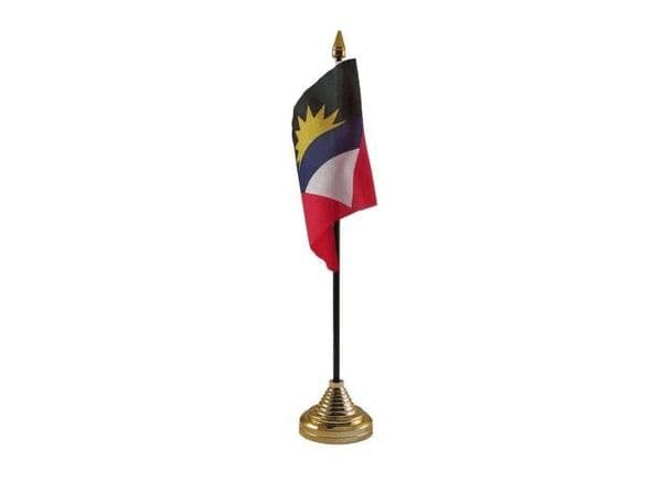 Antigua and Barbuda Table Flag
