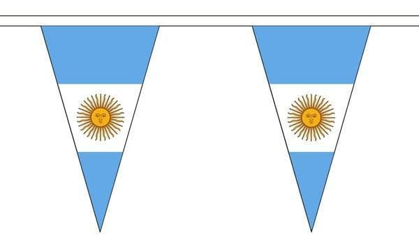 Argentina Triangle Bunting (5m) - 12 Flags