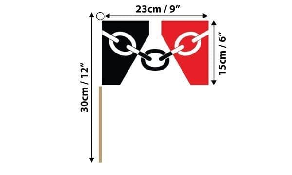 Black Country Hand Flag