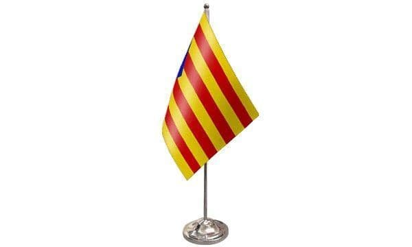 Catalonia Independence Satin Table Flag