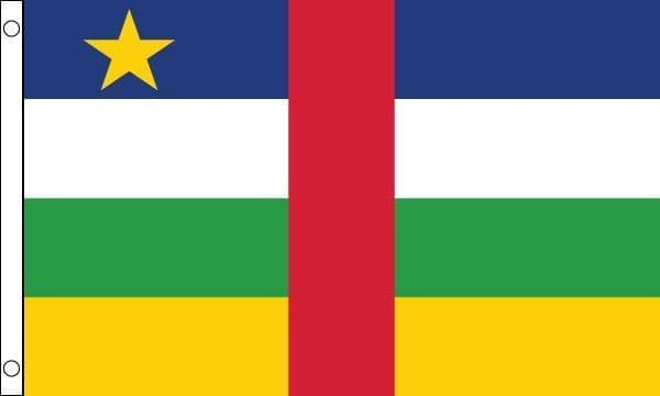 Central African Rep MINI Flag - 9