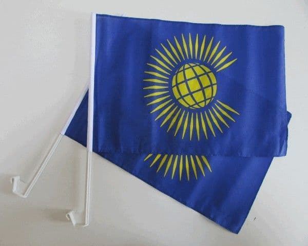 Commonwealth Car Flag - 2 Pack