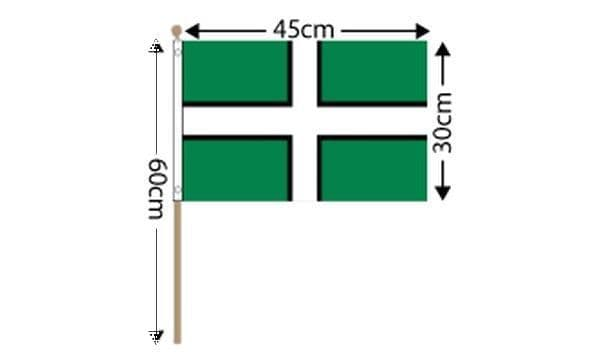 Devon Large Hand Flag (18