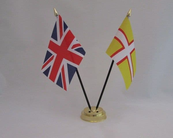 Dorset with UK Friendship Table Flag