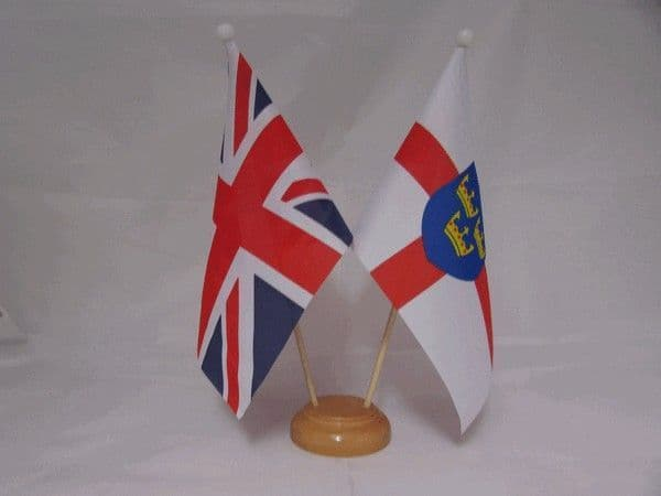East Anglia Friendship Wooden Table Flag