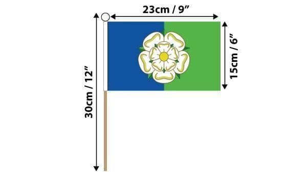 East Riding of Yorkshire Hand Flag