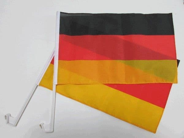 Germany Car Flag - 2 Pack