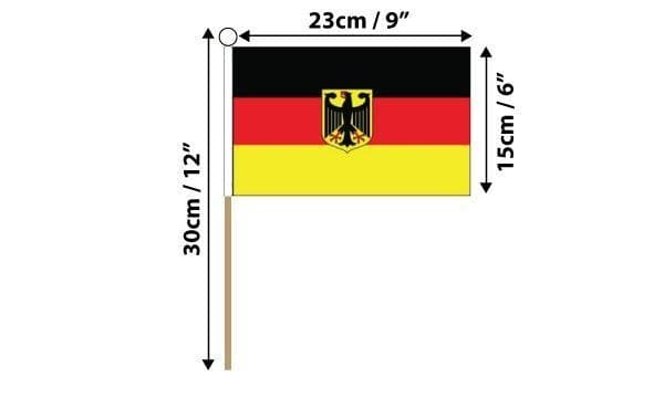 Germany State Hand Flag