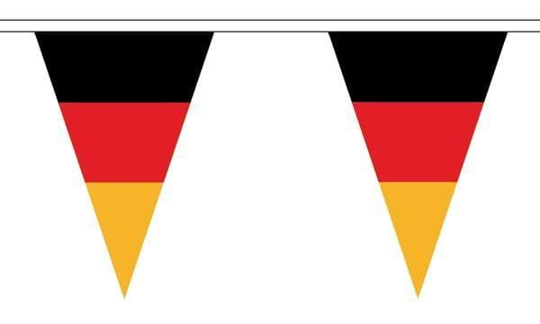Germany Triangle Bunting (20m) - 54 Flags