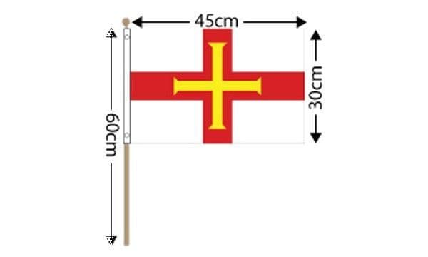 Guernsey Large Hand Flag (18