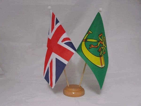 Huntingdonshire Friendship Wooden Table Flag