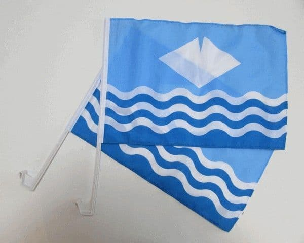 Isle of Wight Car Flag - 2 Pack