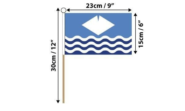 Isle of Wight  Hand Flag