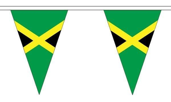 Jamaica Triangle Bunting (20m) - 54 Flags