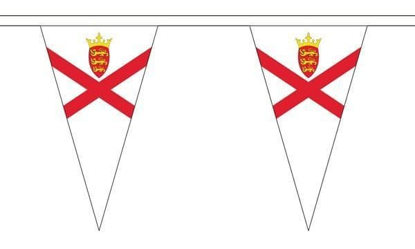 Jersey Triangle Bunting (20m) - 54 Flags