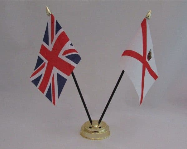 Jersey with UK Friendship Table Flag