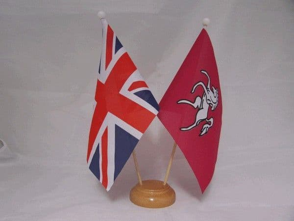 Kent Friendship Wooden Table Flag