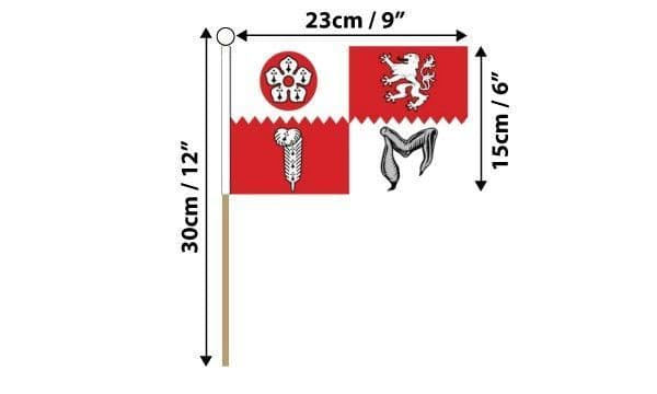 Leicestershire Hand Flag