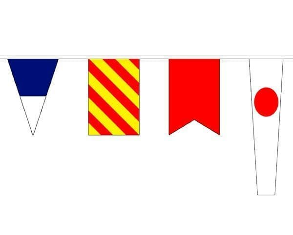 Nautical Bunting (12.7m) - 40 Flags