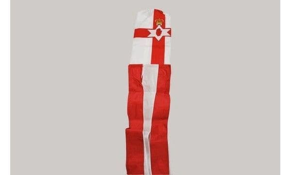 Northern Ireland Red Hand 5ft Windsock