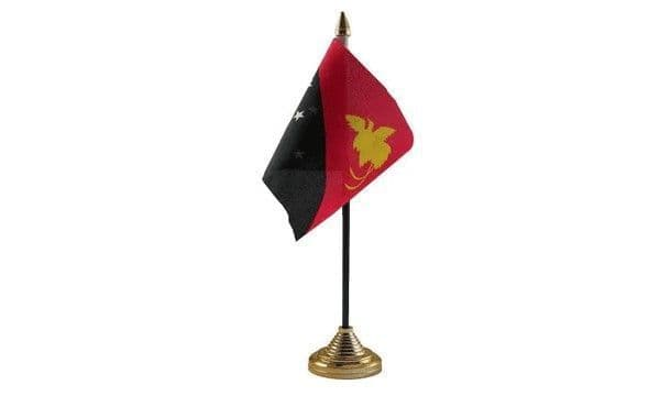 Papua New Guinea Table Flag
