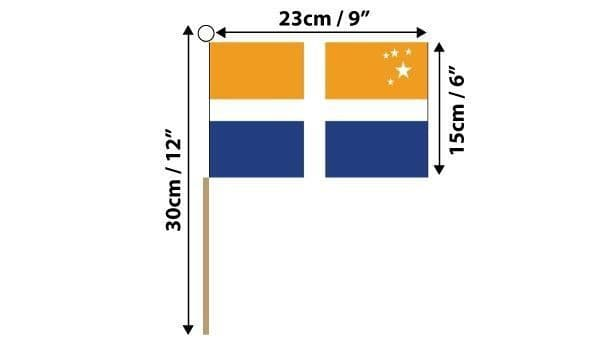Scilly Isles Hand Flag