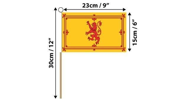 Scotland Lion Hand Flag