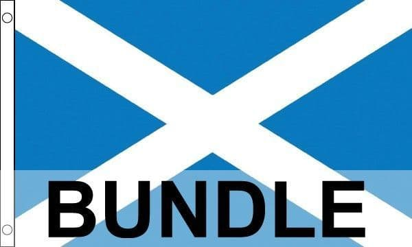 Scotland Patriotic Flag Bundle - 4 Flags