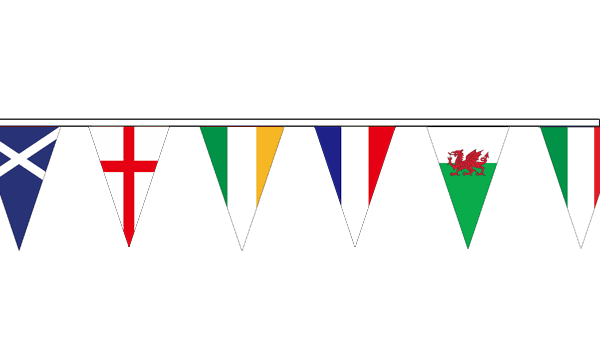 Six Nations Triangle Bunting (10m)