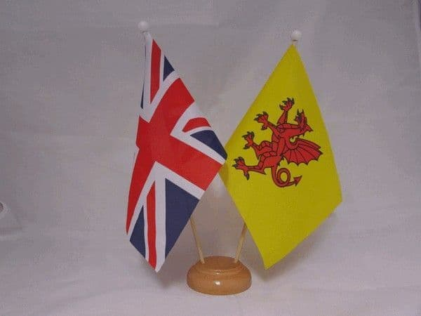 Somerset Friendship Wooden Table Flag
