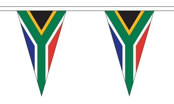 South Africa Triangle Bunting (20m) - 54 Flags