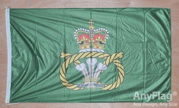 Staffordshire Regiment 5ft x 3ft Flag Rope & Toggle