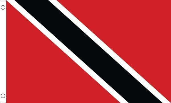 Trinidad and Tobago SLEEVED Flag - 1.5ft x 1ft