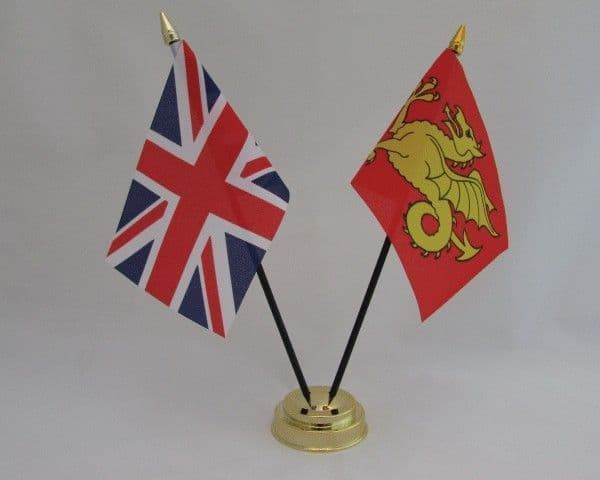 Wessex with UK Friendship Table Flag
