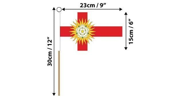 West Riding of Yorkshire Hand Flag