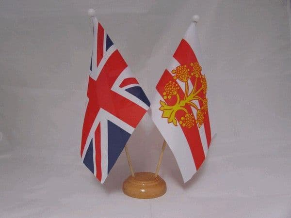 Westmorland Friendship Wooden Table Flag
