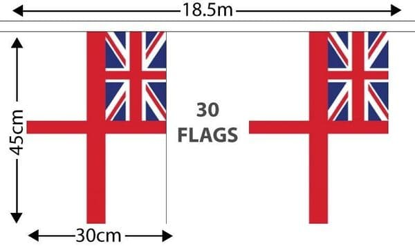 White Ensign GIANT Bunting (18.25m)