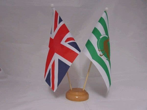 Wiltshire Friendship Wooden Table Flag