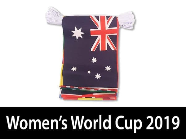 Womans World Cup Bunting (7m)