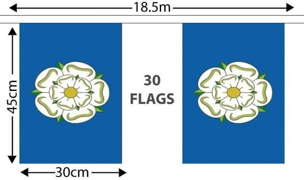 Yorkshire GIANT Bunting (18.25m)
