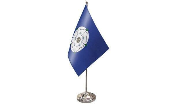 Yorkshire Old Satin Table Flag